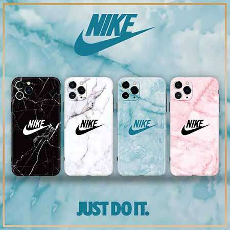 NIKE iPhone11proケース 大理石柄